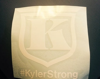 Kyler Strong car decals