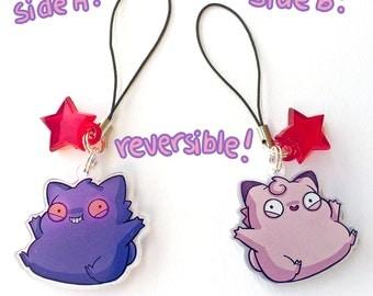 reversible gengar-clefable charm