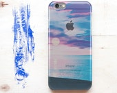 iPhone Cover 3D Cover Back iPhone 6 Case Cute iPhone 6s Case Nature iPhone 6 Plus Case Blue Samsung S5 Case Ocean Galaxy S6 Case Clear Cover