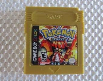 Pokemon Bronze Version Game Boy Color
