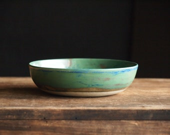 Soup bowl 16 cm in sea-green