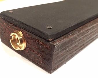 Reclaimed Wood/Chalkboard Tap Handle