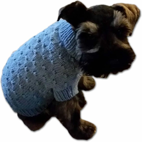 Dot Dog Sweater Pattern