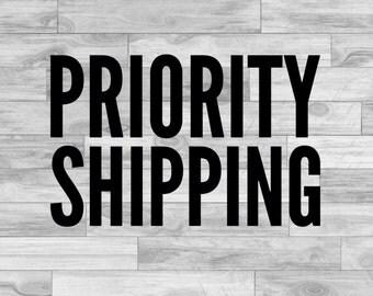 Priotiy Shipping Add On