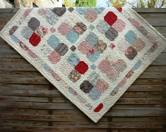 Flower Garden baby quilt