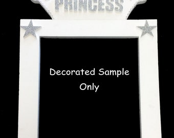 Jumbo / Large Plain Foam Picture Frame Photo Booth for Birthday Wedding Baby Shower Decoration