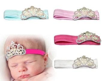 Jeweled Crown Headband