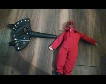 Chris Fehn mask and figure, Slipknot, Unique handmade