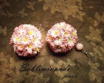 Flower Balls Earrings earrings bon bon