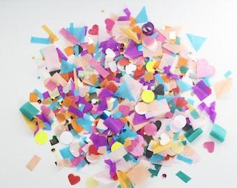 Unicorn Confetti | Colorful Confetti Mix | Birthday Confetti | Unicorn Party | Pinata Filler
