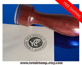 Personalized Rubber Stamp - Branding Stamp - Business Card Stamp