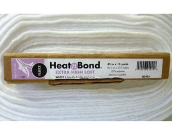 Heat n Bond Q2425 High Loft Fusible Fleece / Wadding - Alternative to Thermolan & H640