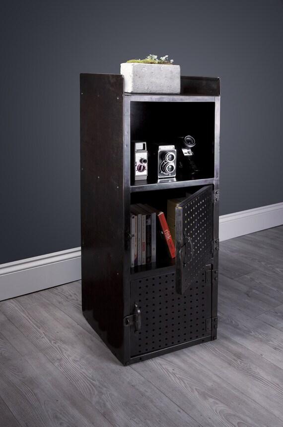 reclaimed vintage industrial locker and storage unit
