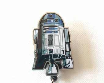 R2D2 retractable badge reel, Star wars badge reel, this is the droid you are looking for.