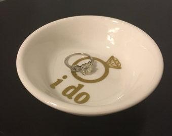 I DO ring dish-- jewelry dish