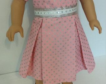 Amercian Made Girl Doll Dress