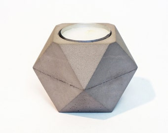 Concrete Candle Holder / Concrete Tea Light Holder / Tea Candle Holder