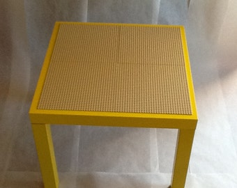 Lego Table Yellow & Sand