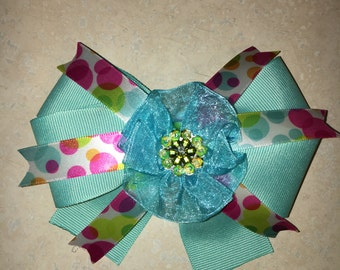 Handmade Girls Hair Bow