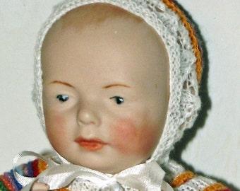 "Antik Repro doll ""Kestner"", ca. 16 cm"
