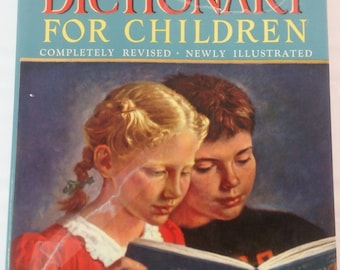 THE PICTURE DICTIONARY 1948 for Children by Garnette Watters