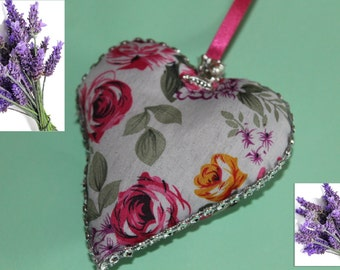 heart tissue to Hung filled with Lavender