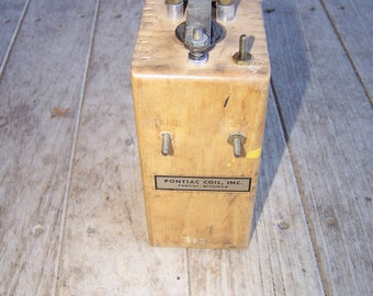 Vintage Pontiac Coil Buzz Box Nice