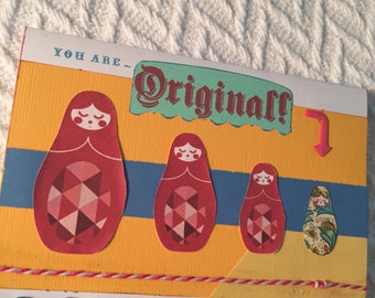 4 x 5.5 Greeting card