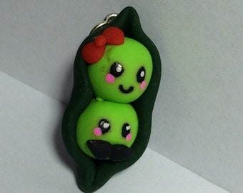 Two Peas in a Pod charm
