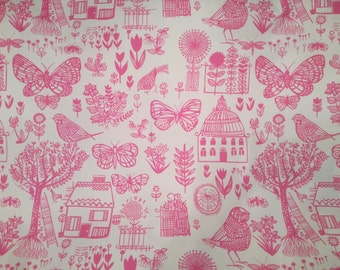 Designers Guild Fabric Modern Floral Cotton Countryside Upholstery BOQUERIA 1.4 Yard