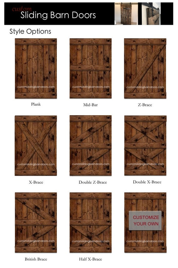 Rustic Sliding Barn Door Custom Made To Fit Your Style