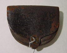 Scarce Indian Wars pattern 1874 US Cavalry Dyer Cartridge box lined in wool for .45-70 Trapdoor Springfield