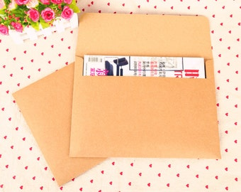 NEW Recycled 350g A4 Kraft Paper Envelope - 4pcs