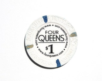 1 Dollar Four Queens Las Vegas Casino Chip