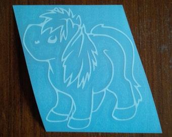 Cute Pony Decal