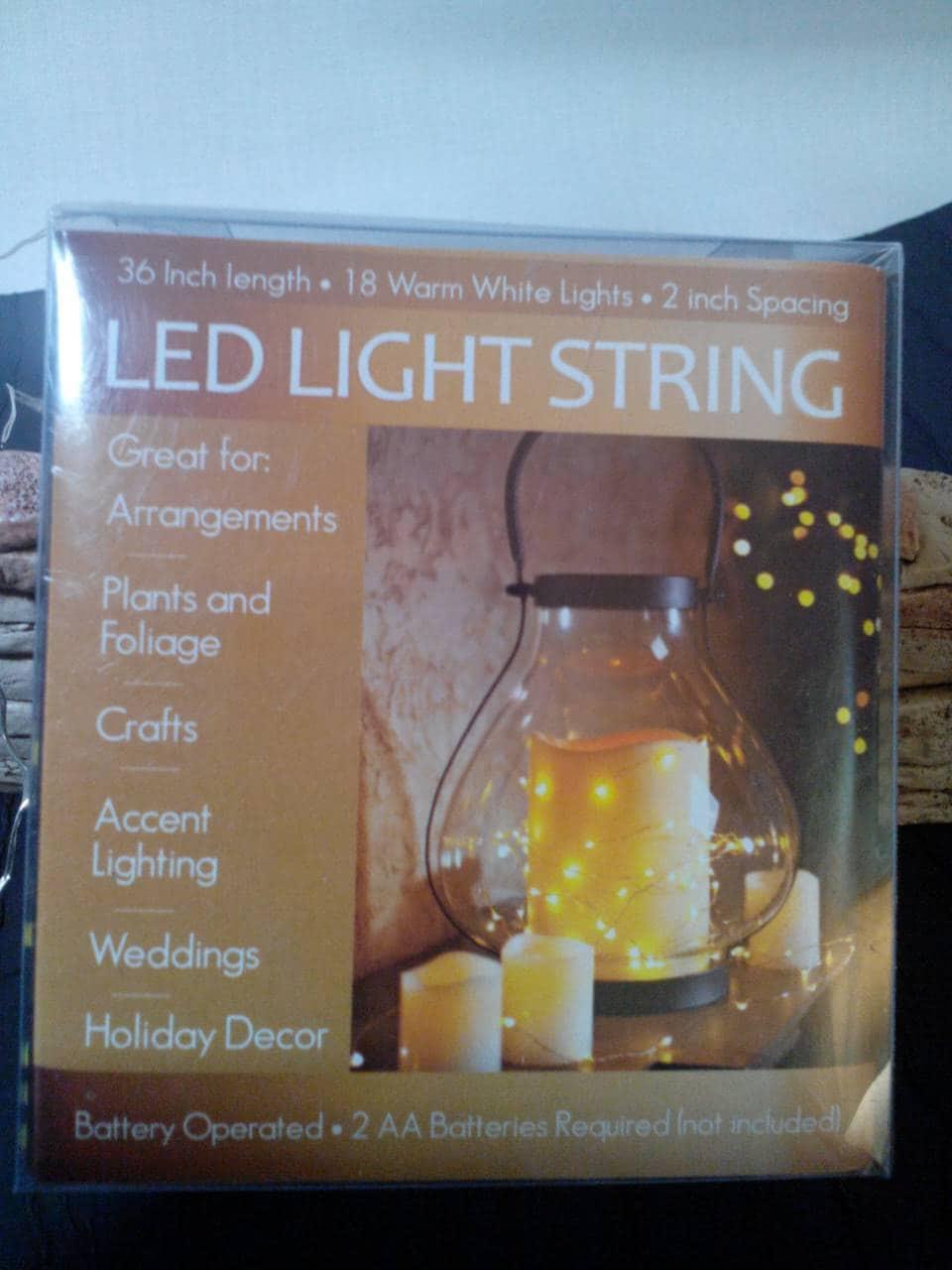 Mini light sets for crafts -  7 50
