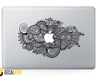 Designer MacBook Decal Removable Vinyl Sticker