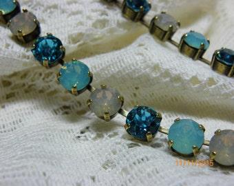 Swarvoski Crystal Cup Necklace  &Earrings