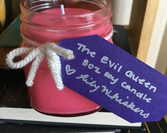 Soy candle, The Evil Queen, 8 oz