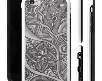Phone Case - Single - Celtic - Black and White