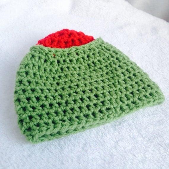 Crochet Pattern Baby Olive Beanie Crochet Baby Olive