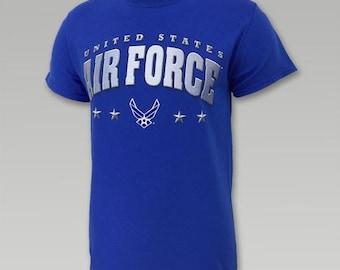 U.S. AIR FORCE  4 Star T-Shirt, Air Force T-Shirts, Military Accessories, Air Force, Accessories, Free Shipping