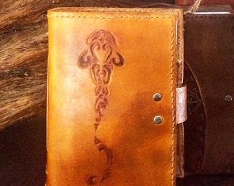 Lemon Shark A6 leather notebook