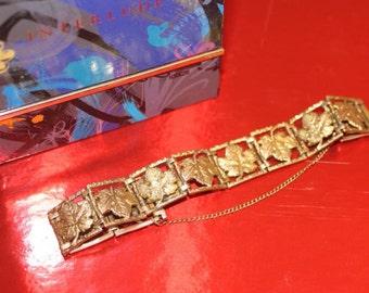 bracelt-golden-30's Vintage antique, best condition
