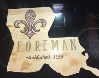 Louisiana Family Established Decor