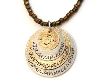 All My Children Necklace