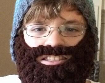 Child Size Bearded Beanie
