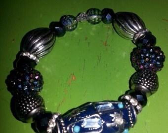 Chunky Silver Bracelets