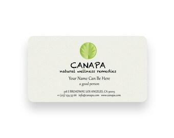 Hemp Logo design and business cards, premade logo design, Cannabis business card design, Professional logo, Hemp store custom business cards