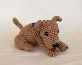Dog Amigurumi Crochet Pattern Plush